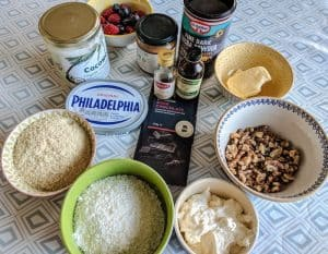 GetKetogenic - Recipe - Chocolate Torte full ingredients