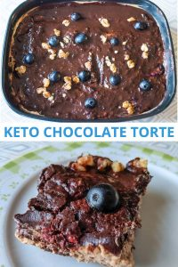 Chocolate Keto Torte recipe - low carb, flour-free ketogenic dessertChocolate Keto Torte recipe - low carb, flour-free ketogenic dessert