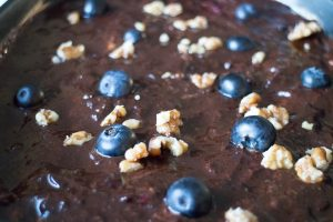 get ketogenic recipe keto torte low carb cake with blueberries and walnut topping